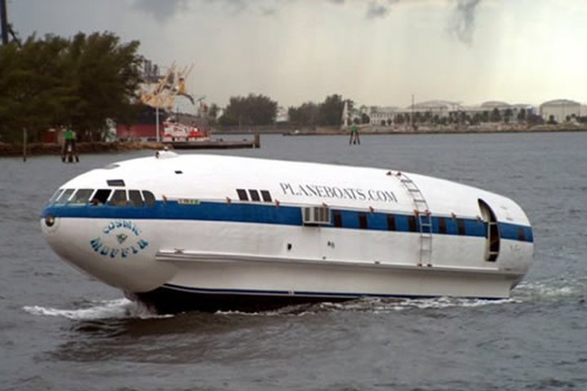 Cosmic Muffin: The Plane-Turned-Boat You've Always Wanted