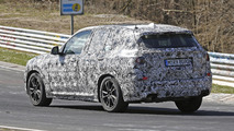 BMW X3 spy photo