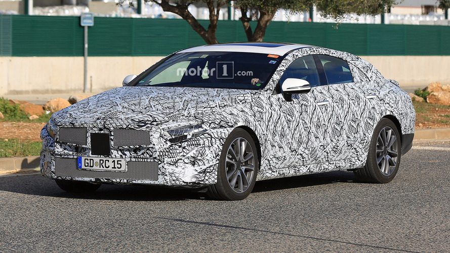 Spied Mercedes CLS replacement might not be renamed CLE
