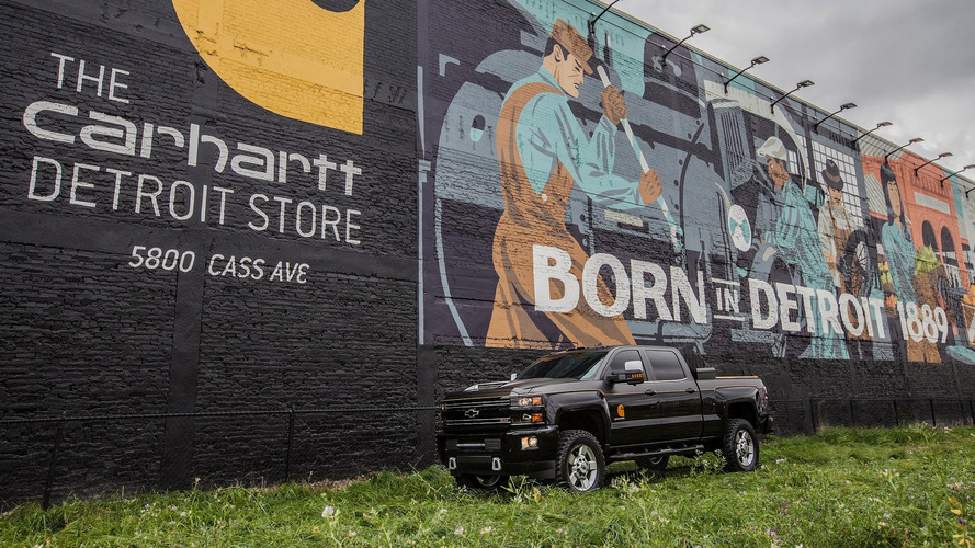 Chevrolet and Carhartt go to work for Silverado concept