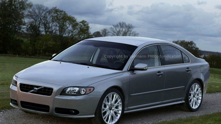 Volvo's New Flagship S 80 Spy Photos