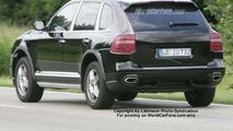 Porsche Cayenne Facelift Spy Photo