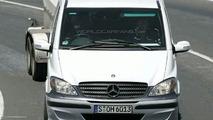 Mercedes V-Class Facelift Spy Photos