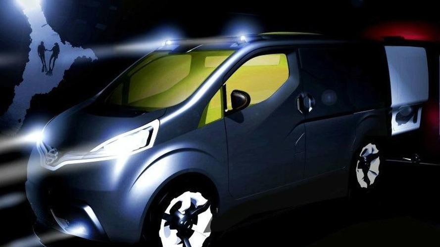 Nissan Reveals NV200 Concept