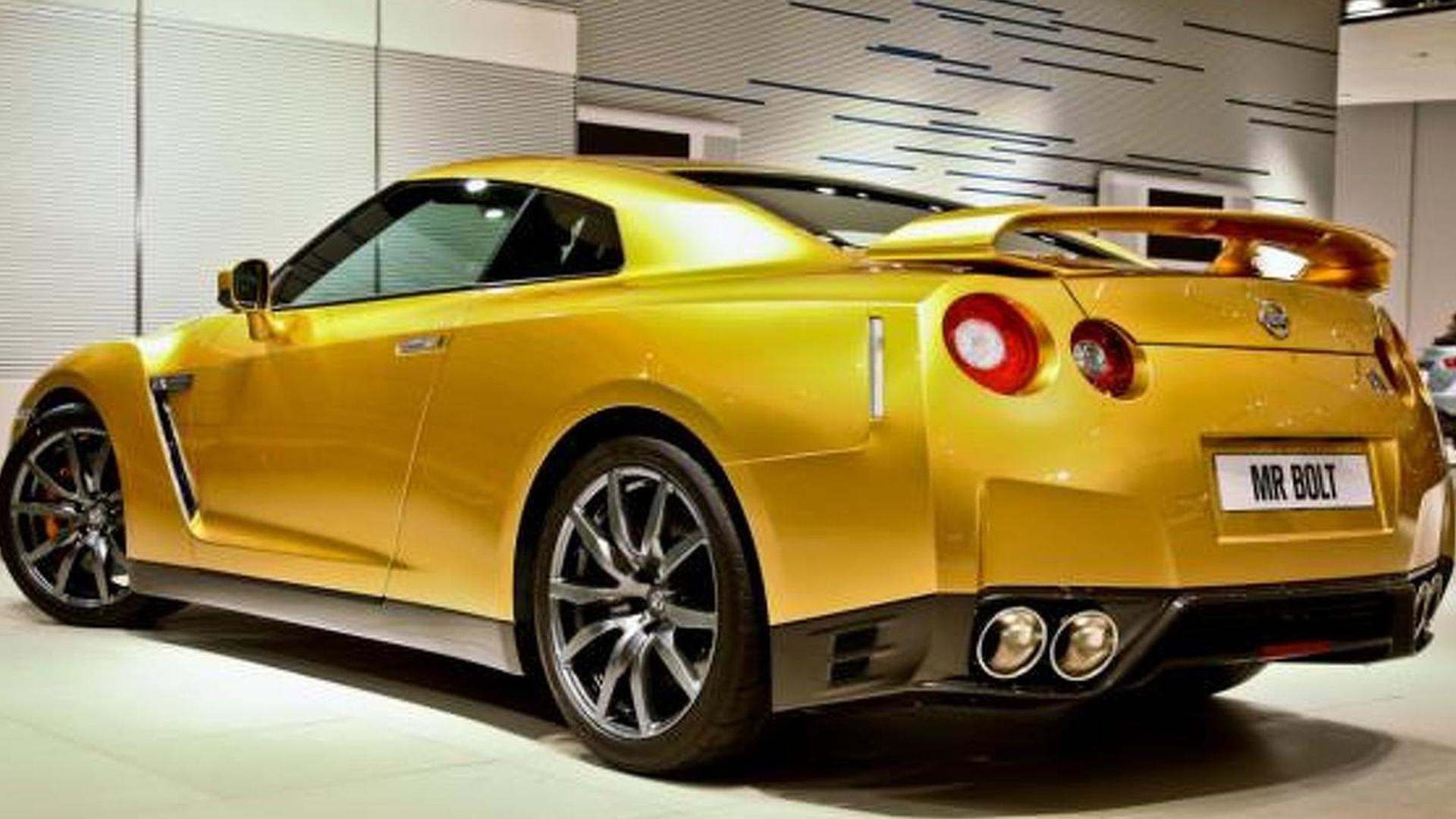 Nissan 'Bolt Gold' GT-R auction starts on Thursday [video]