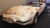 The millionth Chevrolet Corvette at the National Corvette Museum