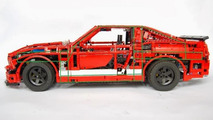 Lego-made Shelby GT 500 by Sheepo's Garage 24.10.2013