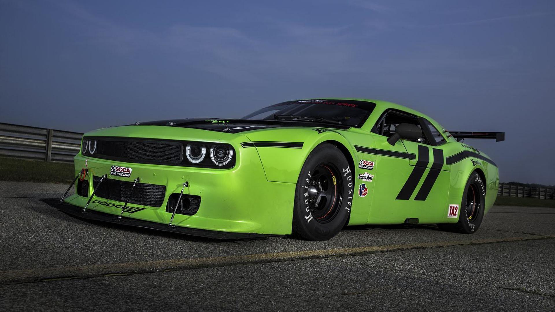 Dodge Challenger SRT Trans Am race car unveiled