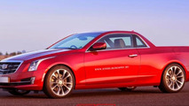 Cadillac ATS pick-up rendering / X Tomi
