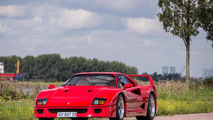 Ferrari F40 previously owned by Nigel Mansell sold for €690,000