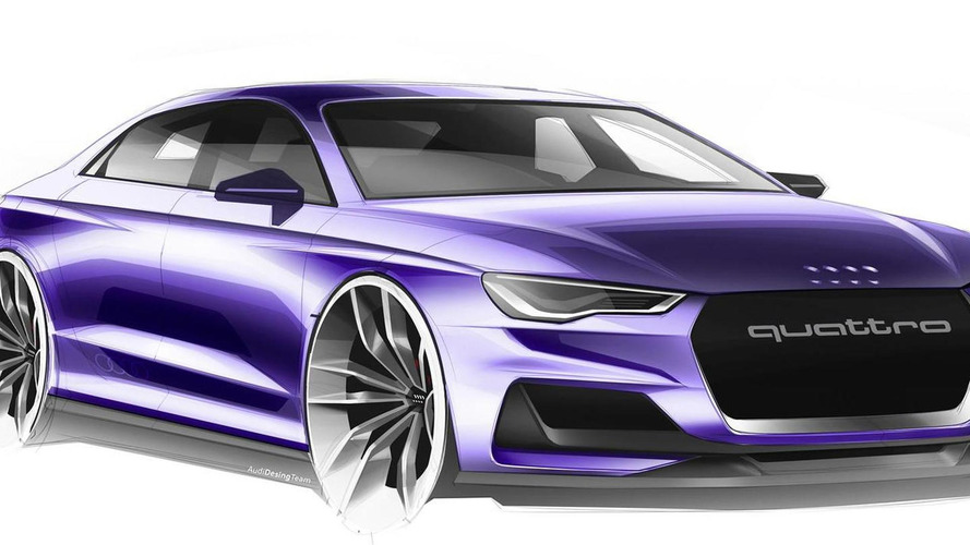 Audi A9 to be previewed at L.A. show with concept revealing new design language