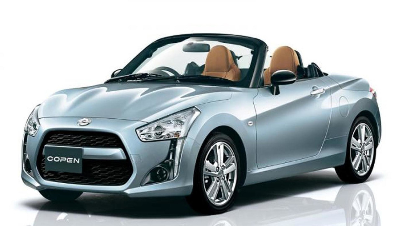 2015 daihatsu copen revealed in production guise video. Black Bedroom Furniture Sets. Home Design Ideas