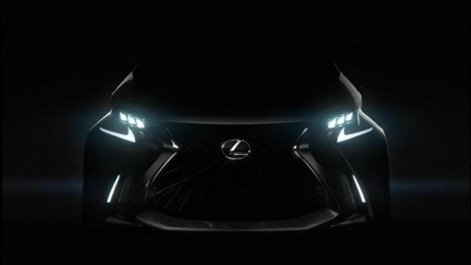 Lexus accidentally tweets a picture of the LF-SA concept