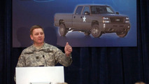 U.S. Army Chevrolet Fuel Cell Silverado