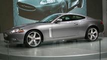 Jaguar XKR at British Motor Show
