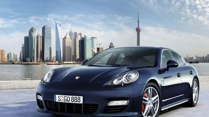 Porsche Panamera to Make World Premiere in Shanghai