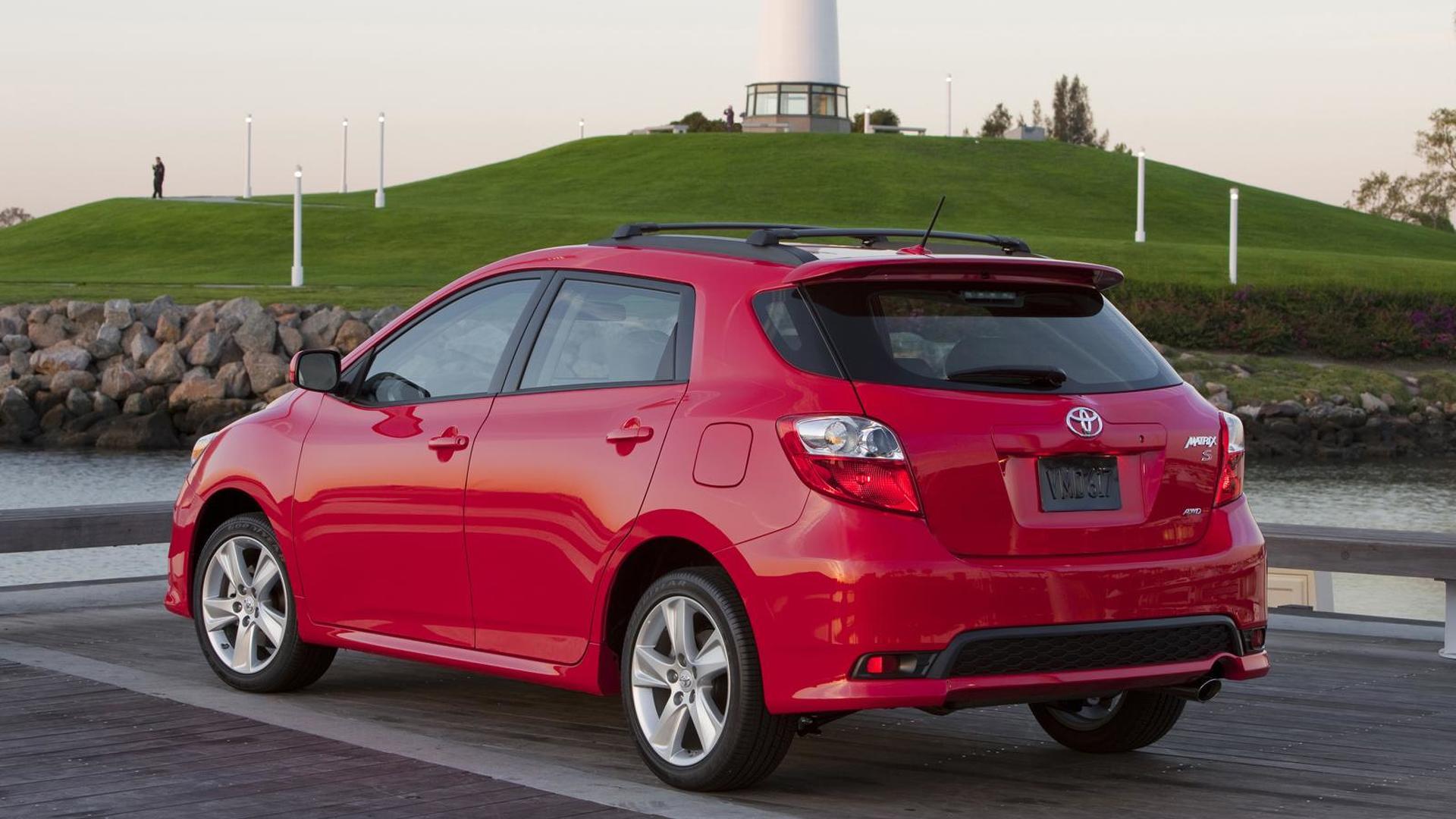 2011 Toyota Matrix unveiled in Chicago