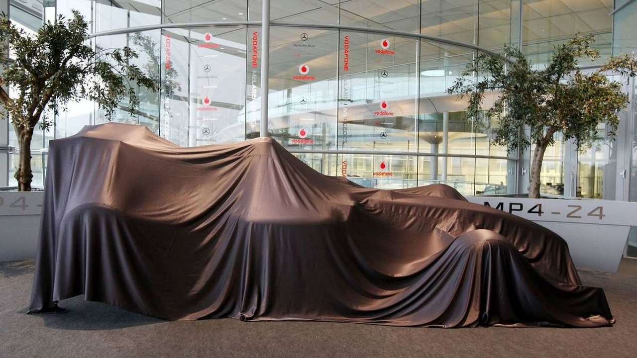 Unveiling of the new car - McLaren Mercedes, MP4-24, 16.01.2009 Woking, England
