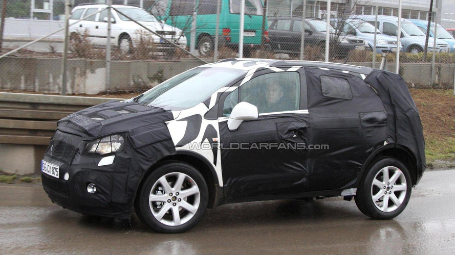2012 Opel 'Baby Antara' SUV spied