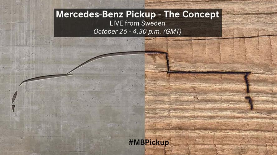Présentation imminente pour le pick-up Mercedes !