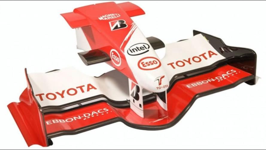 Toyota vende partes originais de seu carro de Fórmula 1 pela internet