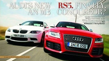 2009 Audi RS5 on October 2008 CAR Magazine Cover?