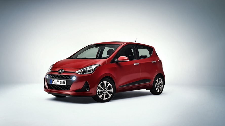 2017 Hyundai i10 to show its facelift in Paris