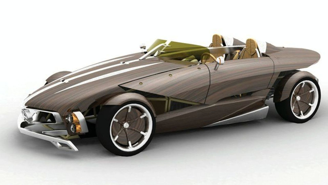 100% recyclable Mercedes-Benz RECY Concept