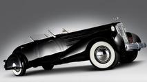1937 Cadillac Phaeton model 5859