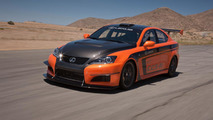 Lexus IS F CCS-R racer unveiled for Pikes Peak Hill Climb