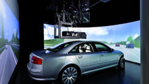 High-end projection driving simulator provides front and rear views 01.03.2012