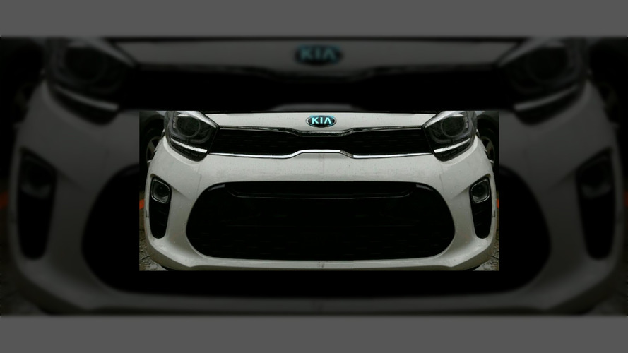 New Kia Picanto shows off its sporty front fascia