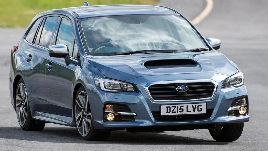 Subaru Levorg GT priced from £27,495 in UK