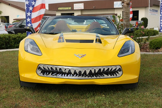 This Grille Turns the Corvette Stingray into a Rolling Shark [w/Video]