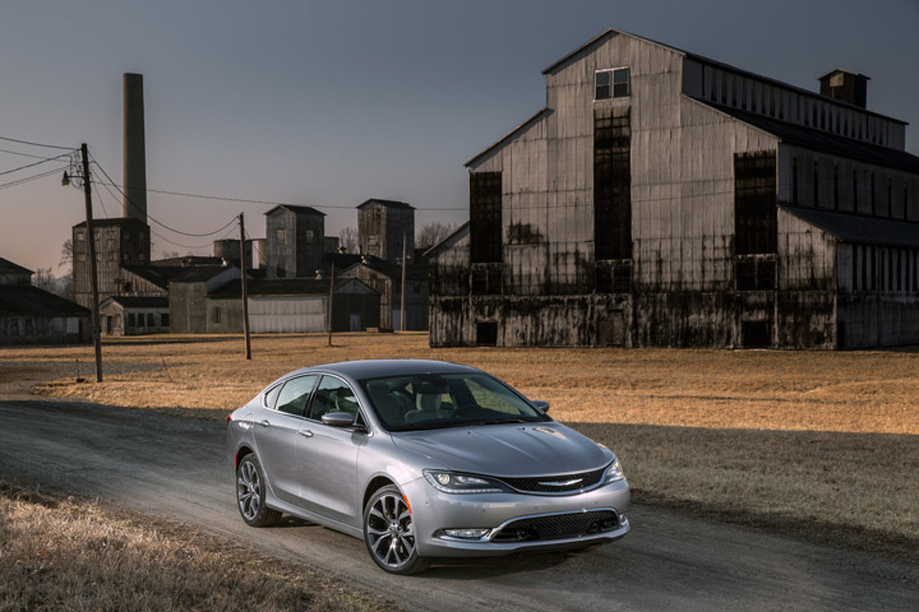 2015 Chrysler 200 First Drive