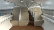 Traveling by Hyperloop looks like a cramped ride