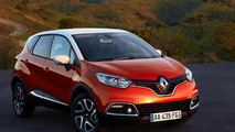 Renault Captur compact crossover production version breaks cover
