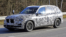 2018 BMW X5 spotted with production body