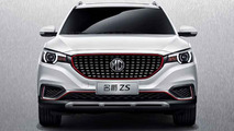 MG ZS leak reveals familiar design