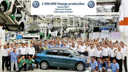 Volkswagen Voyage alcança 1,5 milhão de exemplares produzidos