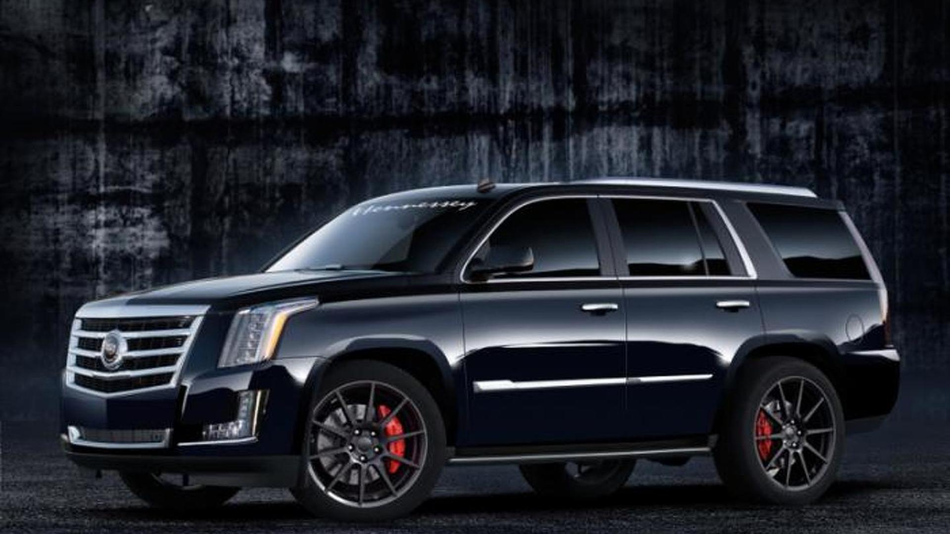 2015 Cadillac Escalade supercharged by Hennessey to 557 bhp