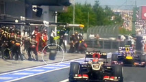 F1 reacts quickly to injured cameraman incident