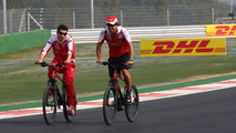 Alonso admits cycling plans delayed for now