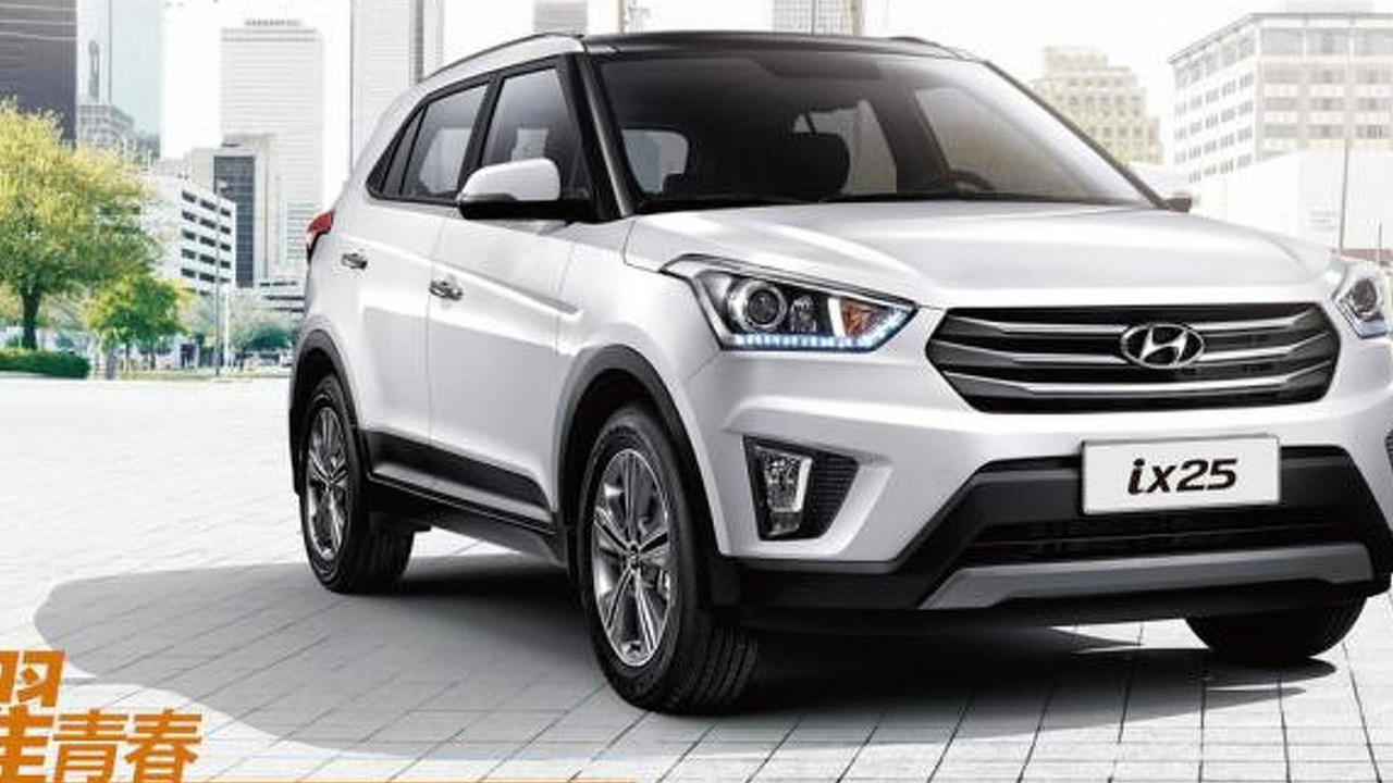 2015 Hyundai ix25 (China-spec)