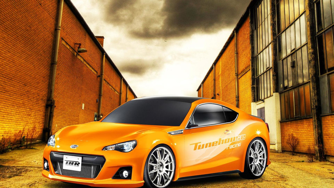 Subaru BRZ by Tunehouse rendering 06.4.2012