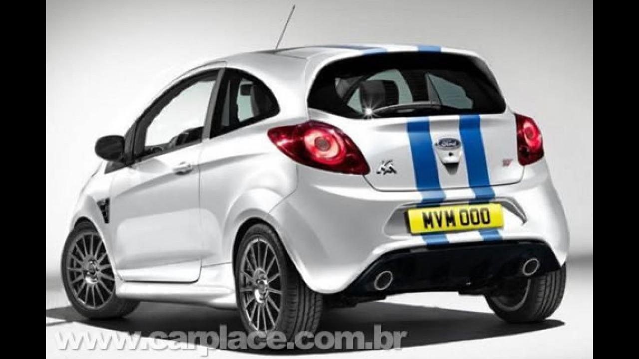Novo Ford KA Europeu pode ganhar versão esportiva ST com motor 1.4 turbo