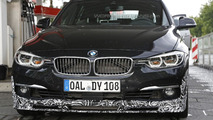 Alpina D3 Facelift spy photo
