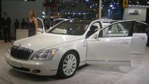 Maybach Landaulet Makes World Debut at Dubai Motor Show