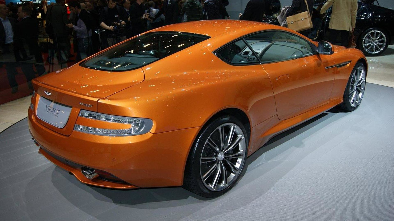 Aston Martin Virage live in Geneva - 01.03.2011