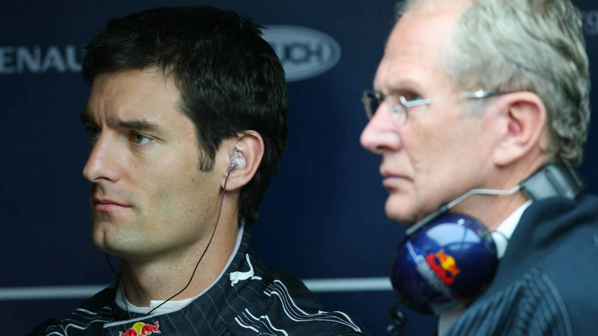Marko hints preferred status unlikely for Webber